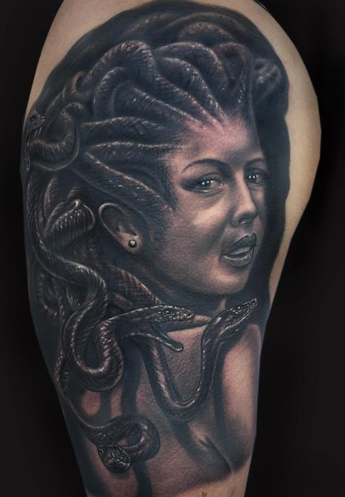 Tattoos - Medusa Tattoo - 106330