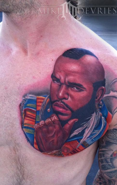Tattoos - Mr T tattoo - 59558