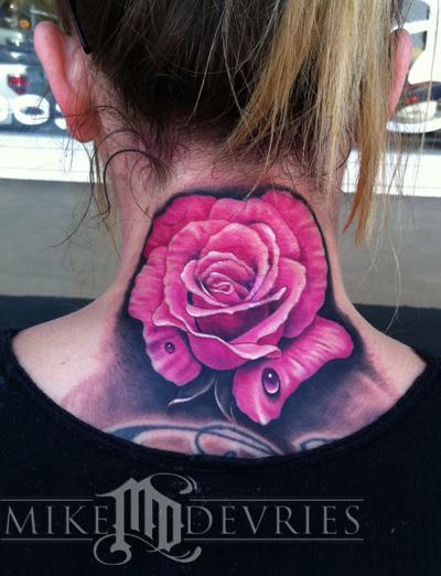 Mike DeVries - Pink Rose