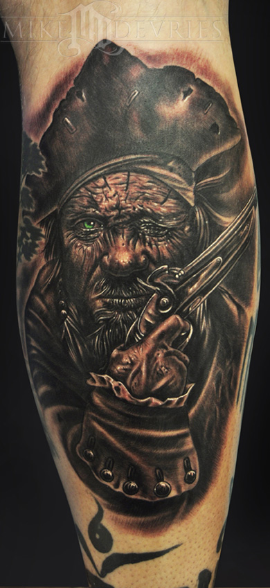 Tattoos - Raggedy Pirate  - 69187