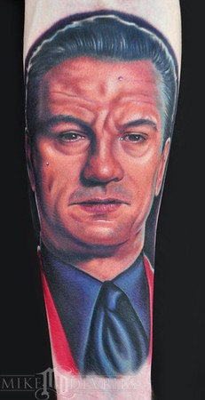 Mike DeVries - Robert Deniro Tattoo
