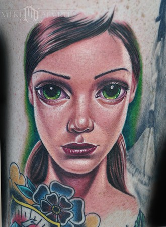 Mike DeVries - Sas Girl Tattoo