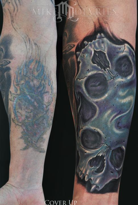 Mike DeVries - Skull Tattoos
