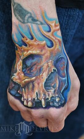 Mike DeVries - Skull Tattoo