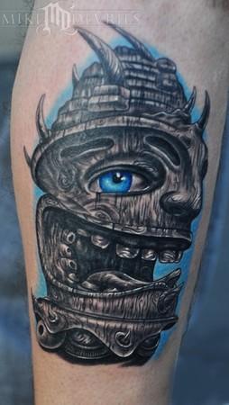 Mike DeVries - Tiki Tattoo
