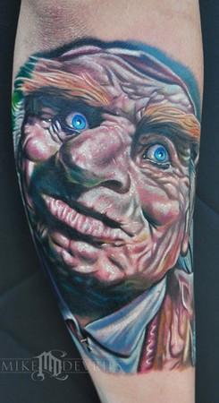 Mike DeVries - Troll Tattoo