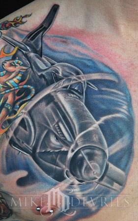 Tattoos - P-51 Mustang - 34856