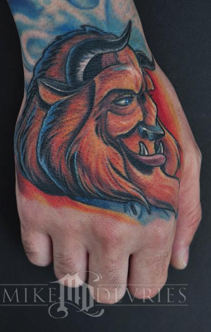 Tattoos - Beast Tattoo Healed - 62088