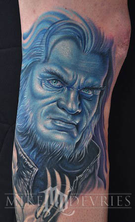 Mike DeVries - The Beast Tattoo