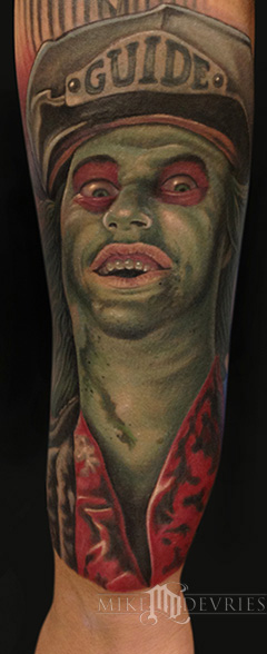 Tattoos - Beetlejuice Tattoo - 70319