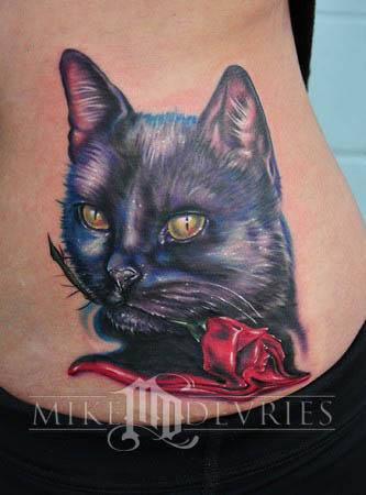 Tattoos - Black Cat - 34857