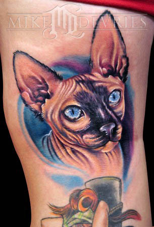 Tattoos - Cat Tattoo - 37067