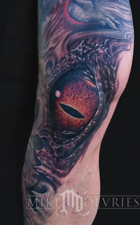 Mike DeVries - Crazy Eye Tattoo