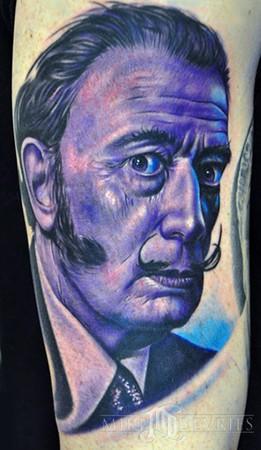 Mike DeVries - Dali Tattoo