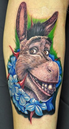 Tattoos - Donkey from Shrek - 43413