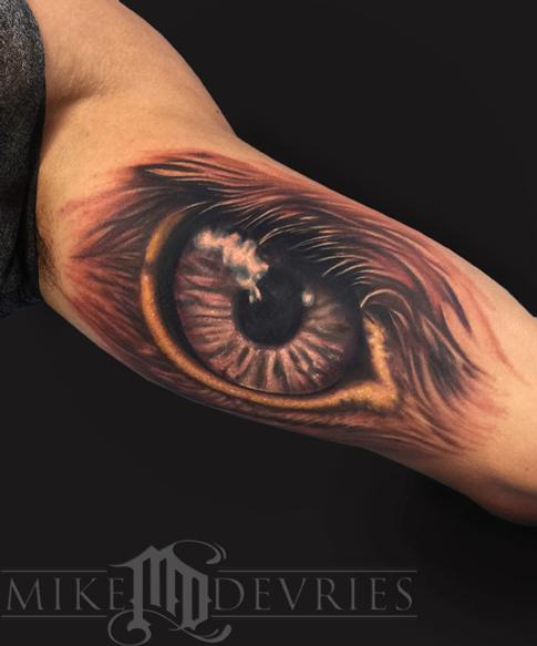 Mike DeVries - Eagle Eye Tattoo