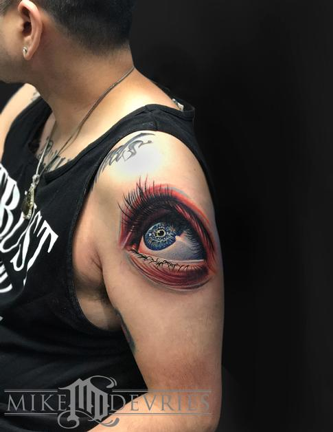 Tattoos - Eye Tattoo - 125513