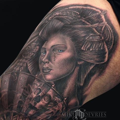 Tattoos - Geisha Tattoo  - 96492