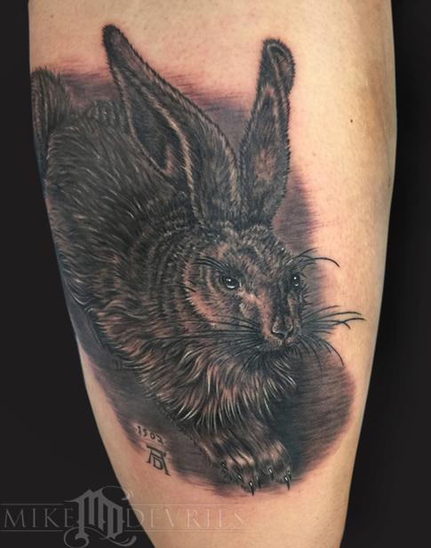 Tattoos - Hare Tattoo - 102454