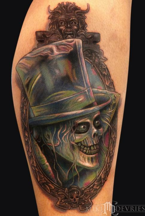 Mike DeVries - Hat Box Ghost Tattoo