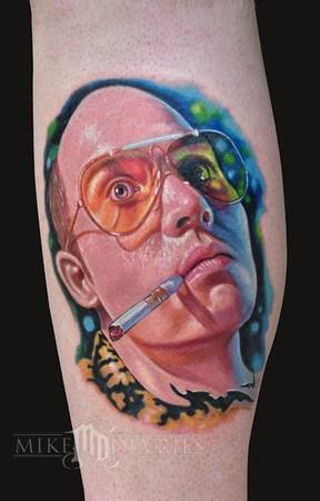 Mike DeVries - Johnny Depp Tattoo