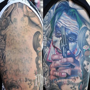 Tattoos - Joker Tattoo - 38238