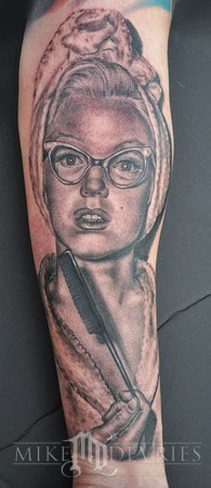 Tattoos - Marilyn Tattoo - 37493