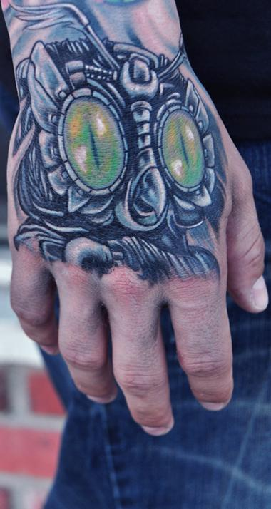 Tattoos - Mechanical Owl Tattoo  - 68917