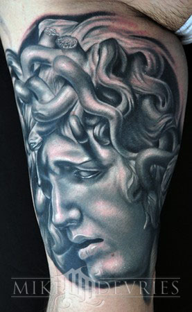 Mike DeVries - Medusa Tattoo