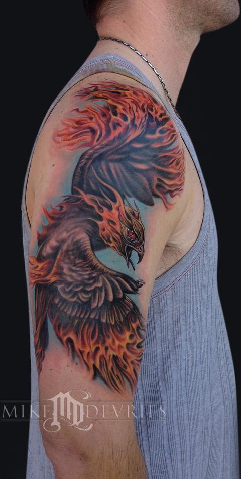 Mike DeVries - Phoenix Tattoo