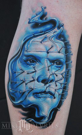Tattoos - Pin Head Tattoo - 37072