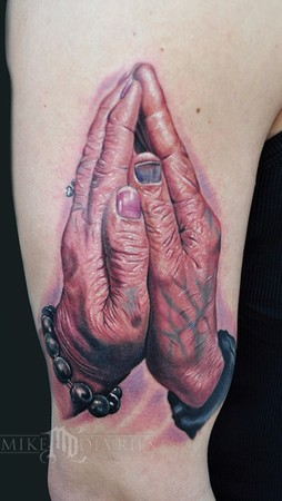 Tattoos - Praying Hands - 42431
