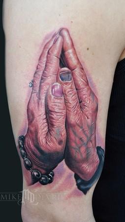 Mike DeVries - Praying Hands