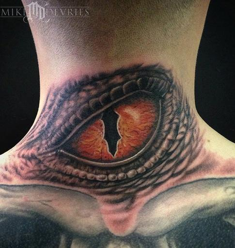 Mike DeVries - Custom Reptile Eye