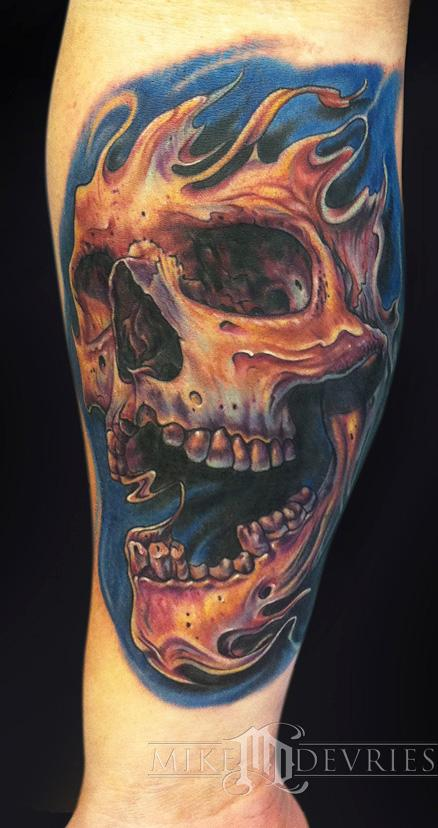 Tattoos - Skull Tattoo  - 66731
