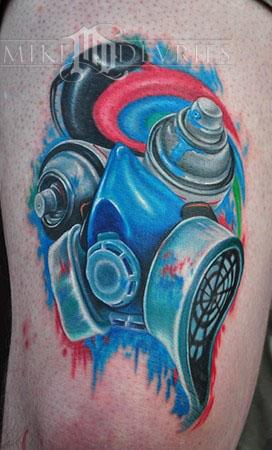 Mike DeVries - Graffiti Tattoo