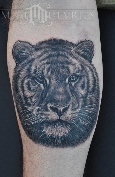 Mike DeVries - Tiger Tattoo