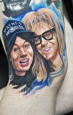 Tattoos - Waynes World  - 41643