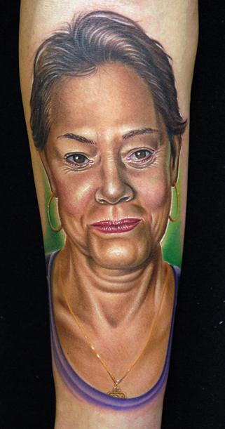Mike DeVries - Portrait Tattoos