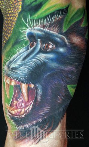 Tattoos - Monkey - 20662
