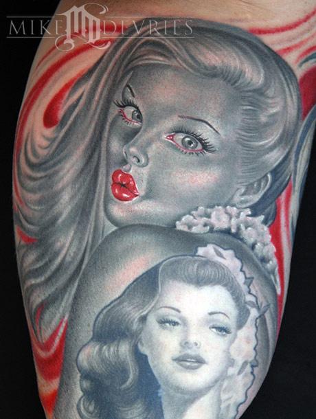 Tattoos - Pin-up - 21579