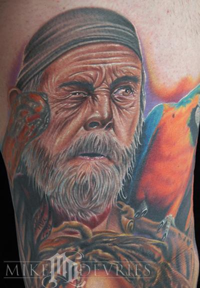 Tattoos - Pirate - 24662