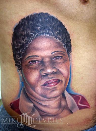 Tattoos - A Mom Portrait - 19830