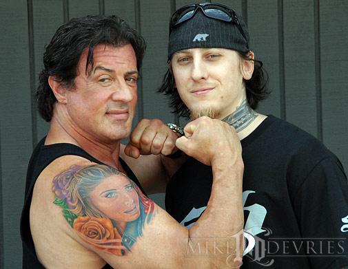 Tattoos - Sly and I - 21451