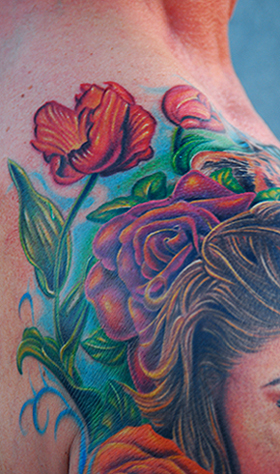 Mike DeVries - Sly Tattoo