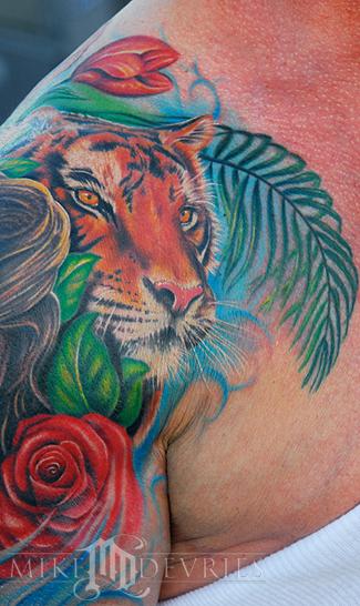 Tattoos - Sly's Tiger Tattoo - 26278
