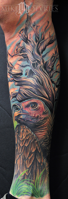 Mike DeVries - Vulture Tattoo