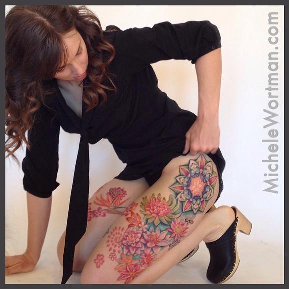 Michele Wortman - Chloes Succulent Cosmic Garden Leg set
