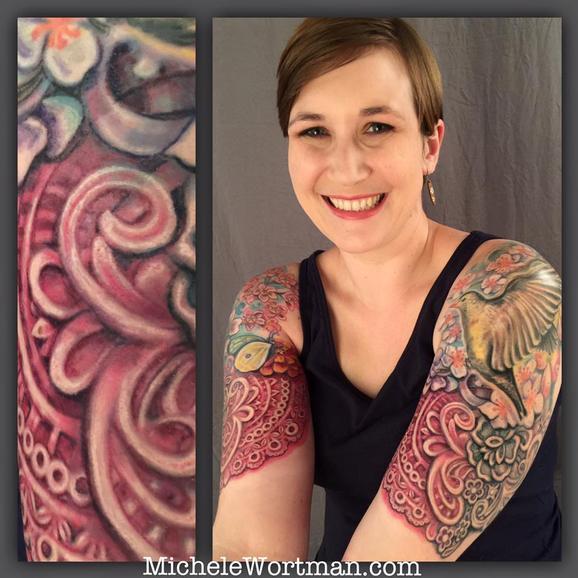 Tattoos - Lacey garden - 117153