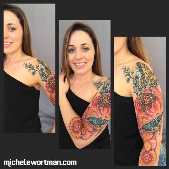 Michele Wortman - Memories through ink